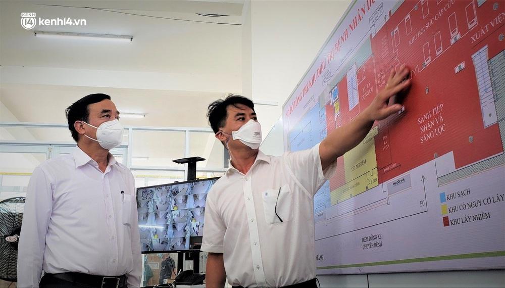 Ảnh: Cận cảnh Bệnh viện dã chiến số 1 điều trị bệnh nhân COVID-19 ở Đà Nẵng - Ảnh 21.