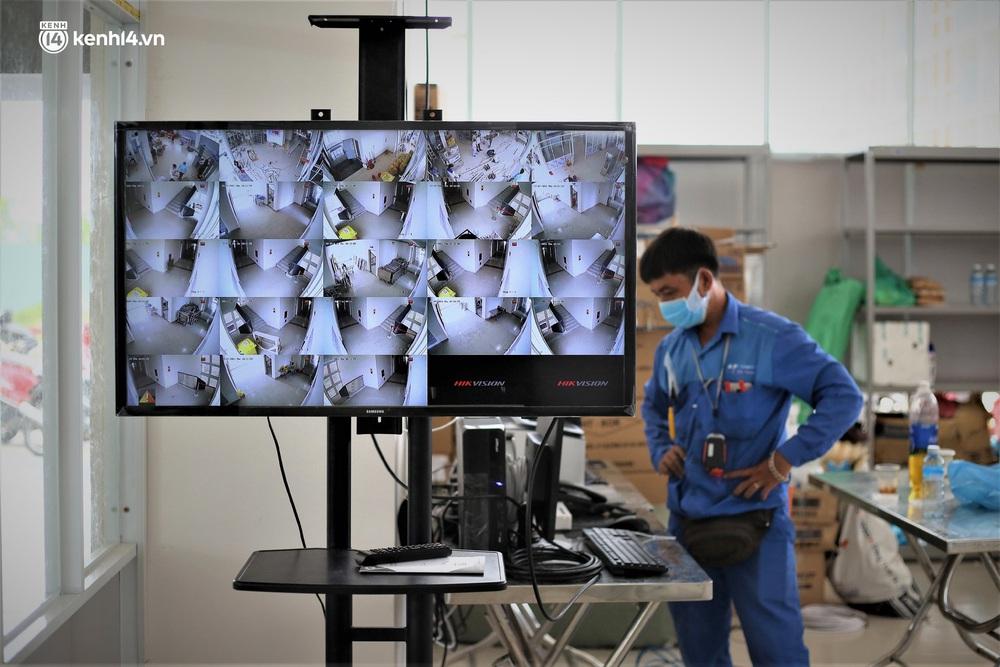 Ảnh: Cận cảnh Bệnh viện dã chiến số 1 điều trị bệnh nhân COVID-19 ở Đà Nẵng - Ảnh 7.