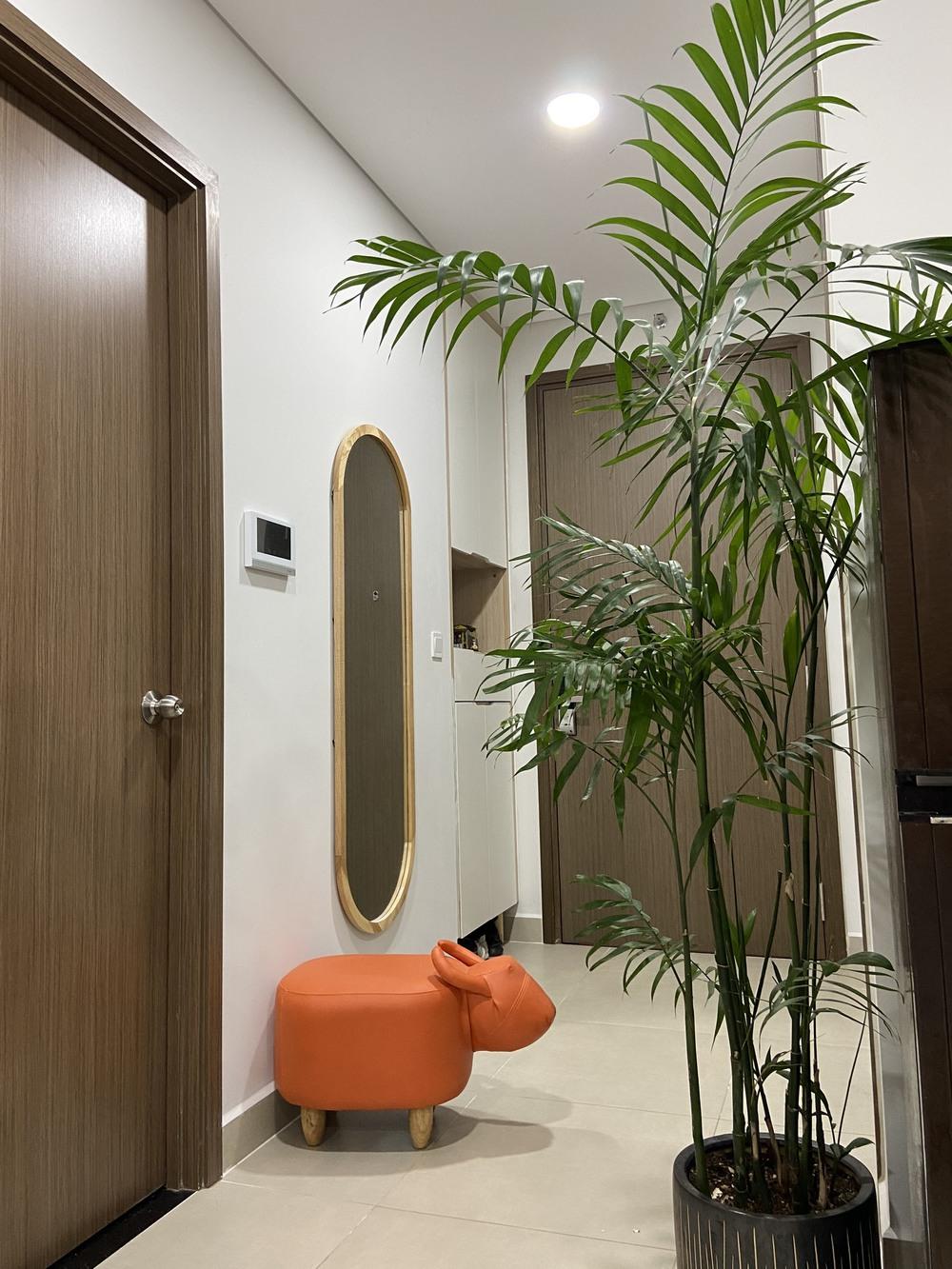 Mua căn hộ 58m2, vợ chồng trẻ tự thiết kế siêu ưng nhưng nể nhất là chi phí siêu hạt dẻ - Ảnh 4.