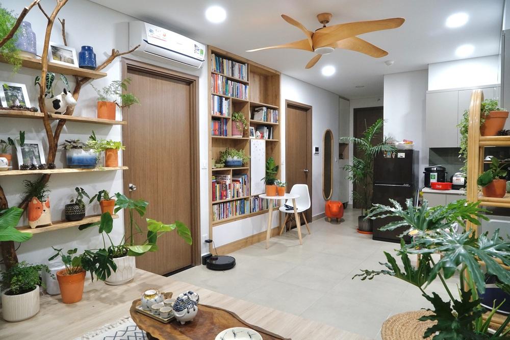 Mua căn hộ 58m2, vợ chồng trẻ tự thiết kế siêu ưng nhưng nể nhất là chi phí siêu hạt dẻ - Ảnh 5.
