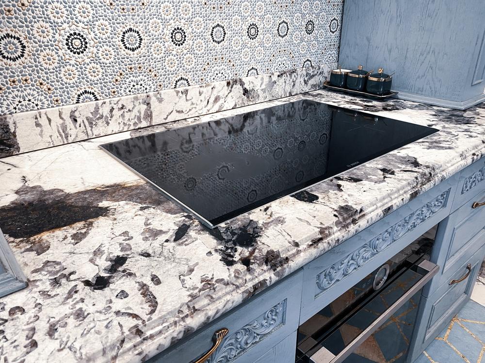 Vợ Đăng Khôi khoe căn bếp style châu Âu trong biệt thự 2 triệu đô, chọn toàn vật liệu thượng lưu ngắm thấy mê  - Ảnh 4.