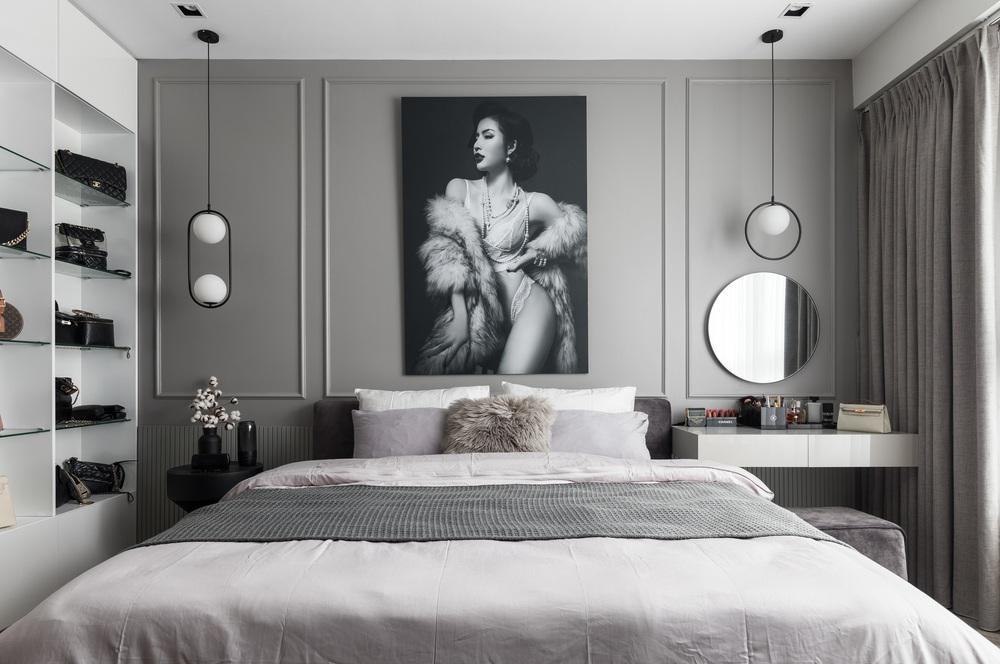 Gái 9X tậu căn hộ 95m2: Chọn toàn tông màu cá tính chất lừ, đồ nội thất tinh xảo nhìn là biết có gu - Ảnh 6.