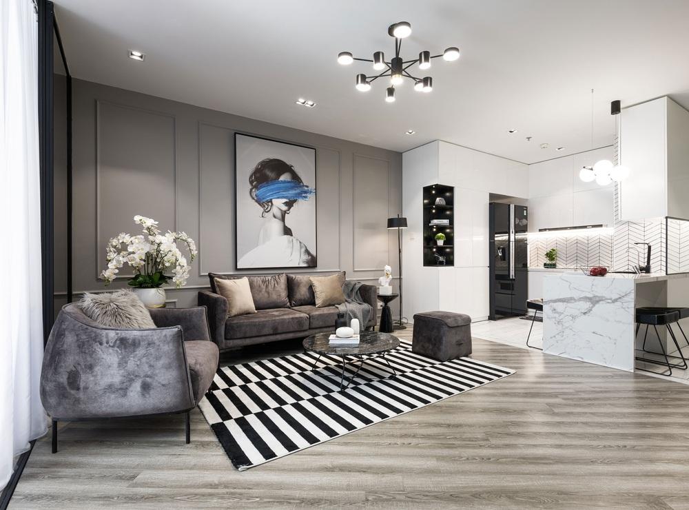Gái 9X tậu căn hộ 95m2: Chọn toàn tông màu cá tính chất lừ, đồ nội thất tinh xảo nhìn là biết có gu - Ảnh 1.