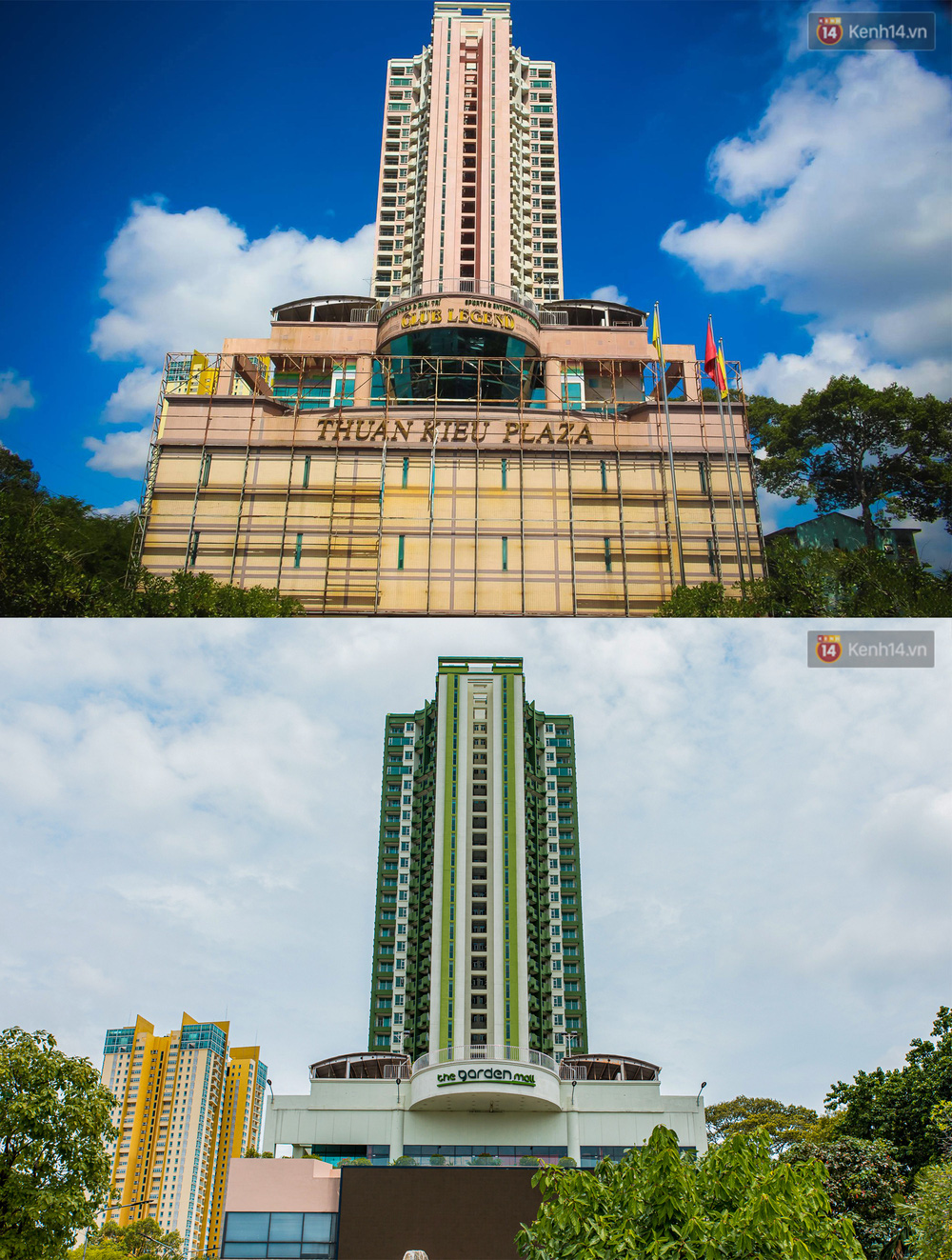 Ảnh: Cận cảnh toà nhà Thuận Kiều Plaza, nơi chuẩn bị được trưng dụng làm bệnh viện dã chiến điều trị Covid-19 - Ảnh 15.