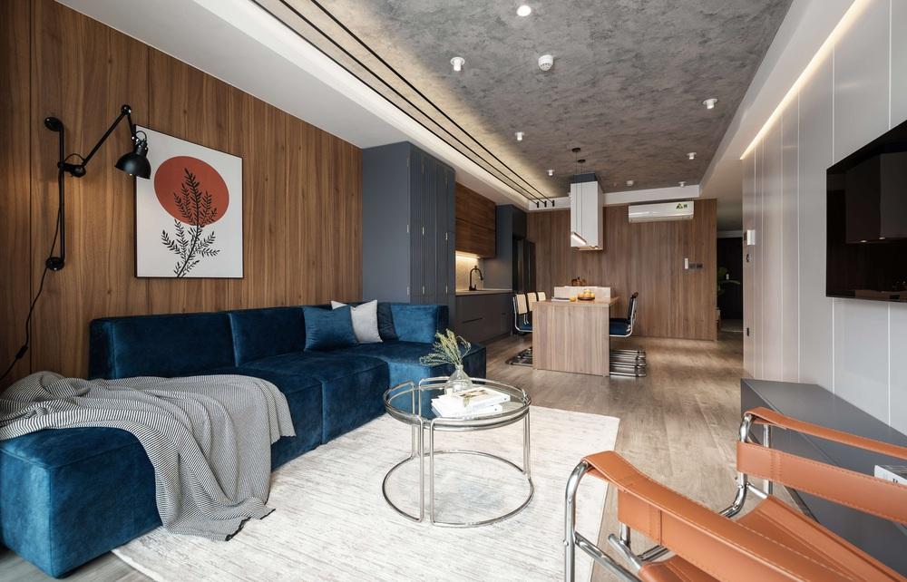 Cặp đôi chốt căn hộ 103m2 gần hồ Tây, buộc phải cắt giảm chi phí thiết kế nhưng thành quả vẫn sang vô cùng  - Ảnh 5.