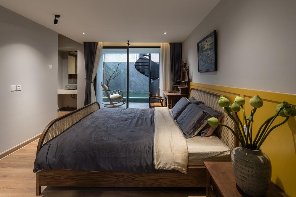 Nhà phố chill như resort với phong cách nhiệt đới, cả vườn lẫn hồ bơi mini đều đúng chuẩn nghỉ dưỡng tại gia - Ảnh 4.