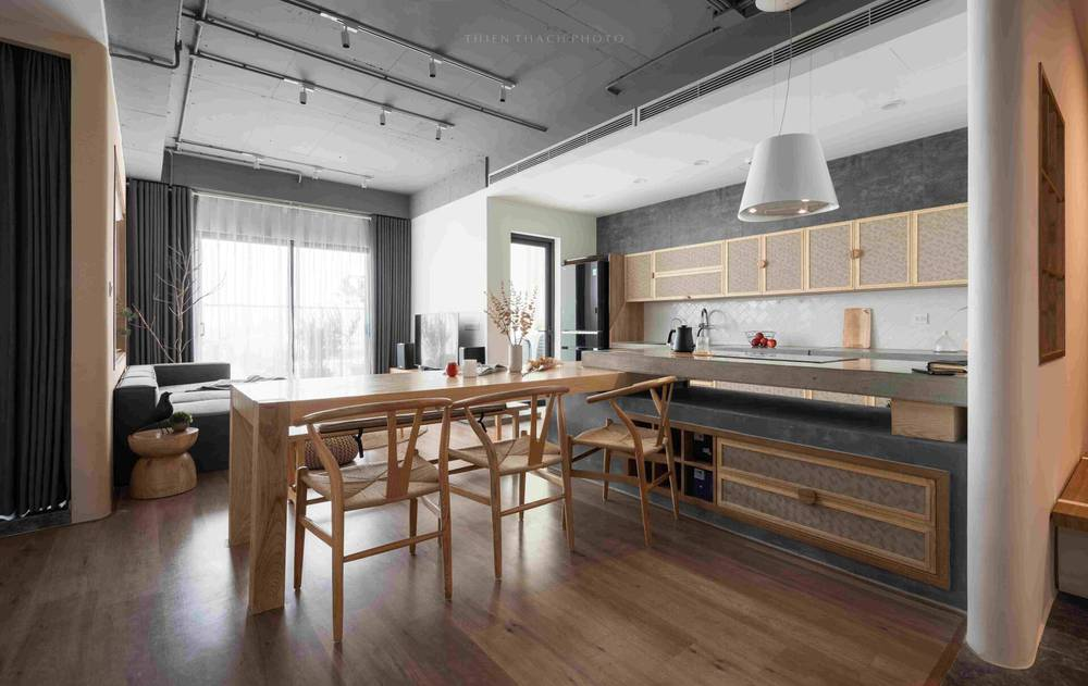 Chi 700 triệu, cặp đôi mang cả đồng quê vào căn hộ 120m2, nhìn bếp mà muốn nấu nướng cả ngày - Ảnh 6.
