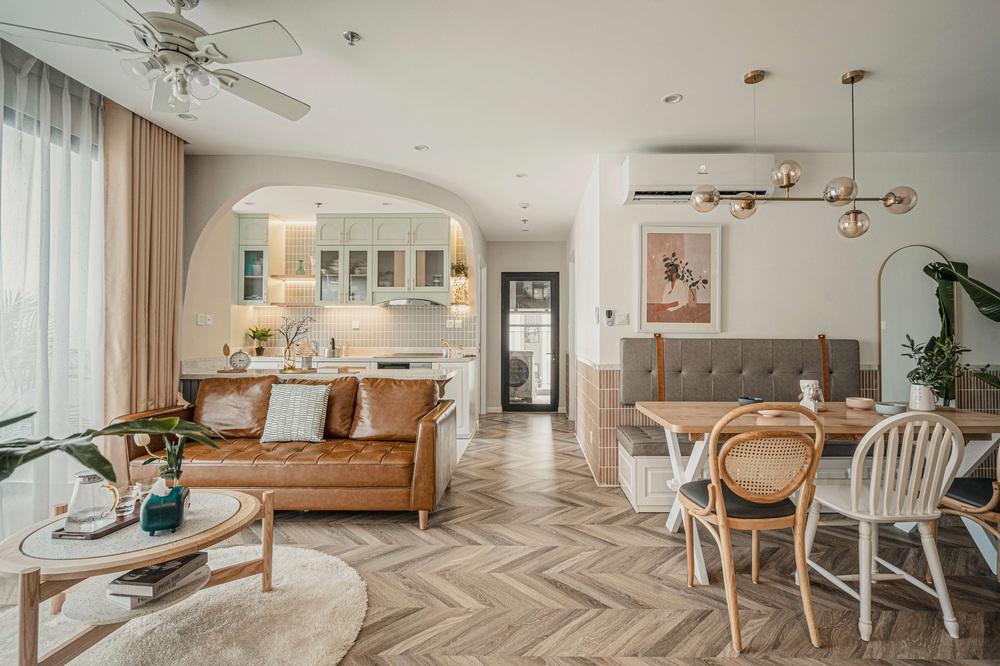 Tậu căn hộ Vinhomes Ocean Park 98m2, vợ chồng trẻ chi 350 triệu thiết kế theo style chuẩn tây quá ấm áp bình yên - Ảnh 1.