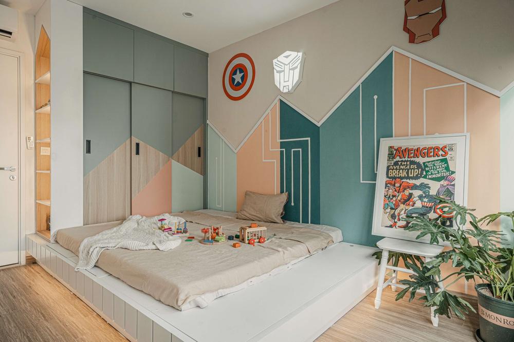 Tậu căn hộ Vinhomes Ocean Park 98m2, vợ chồng trẻ chi 350 triệu thiết kế theo style chuẩn tây quá ấm áp bình yên - Ảnh 8.