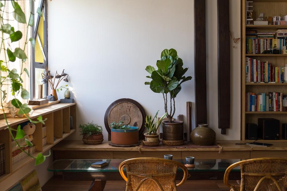 """Gia đình nhỏ chi 390 triệu làm căn hộ cổ điển giữa lòng Hà Nội, đứng ở bất cứ đâu cũng có góc chụp ảnh cực """"thơ"""" - Ảnh 7."""