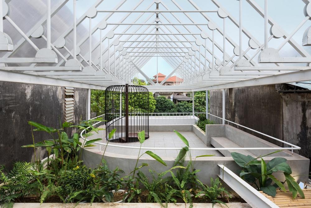 Cặp vợ chồng 9x bỏ Hà Nội về Thái Nguyên tậu cơ ngơi hoành tráng, tận hưởng cuộc sống yên bình với khu vườn trên cao cực chất - Ảnh 7.
