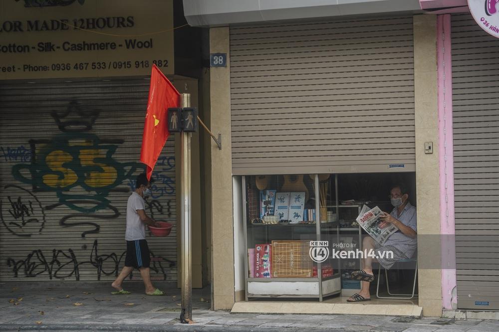 Ảnh: Ngày Quốc khánh đặc biệt giữa thời điểm Hà Nội thực hiện giãn cách xã hội - Ảnh 5.