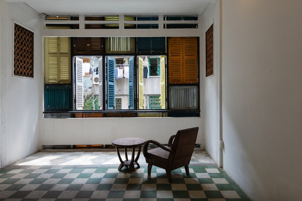 Ngôi nhà 60m2 với vô vàn ô cửa sắc màu ở Sài Gòn, bên trong chuẩn vibe vintage quá mê - Ảnh 10.