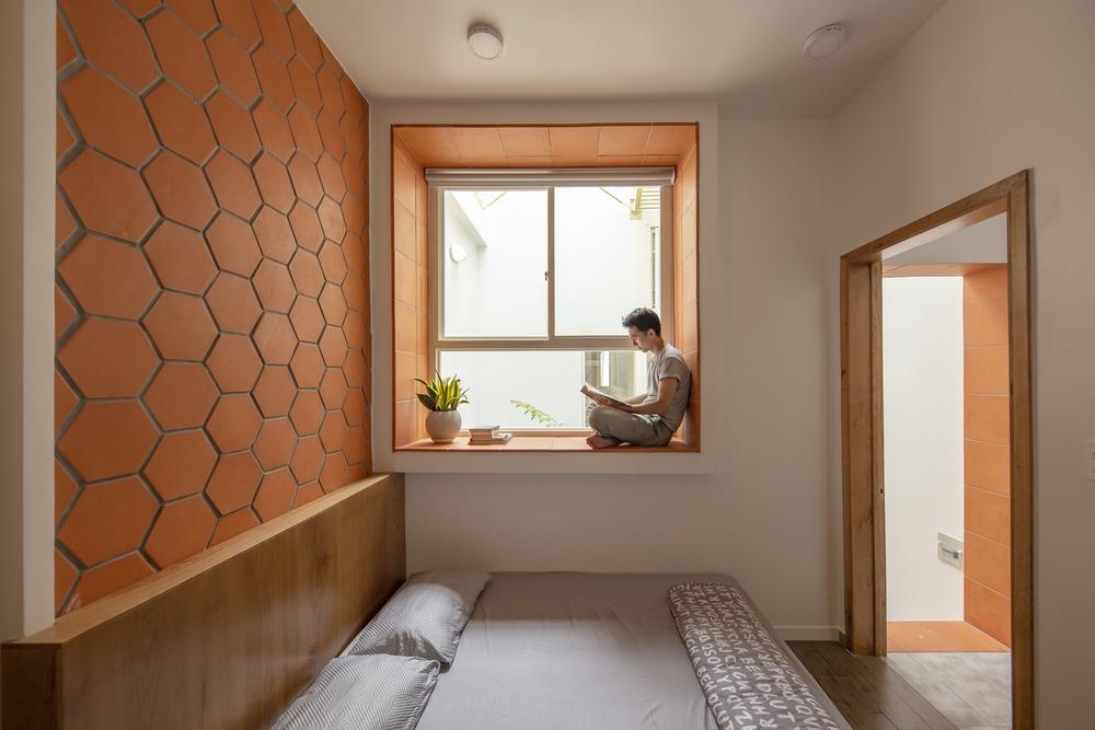 Nhà mái đôi Sài Gòn xinh ngất ngây với thiết kế lõi xanh, chỉ ngắm cũng thấy ngập tràn năng lượng tích cực  - Ảnh 8.