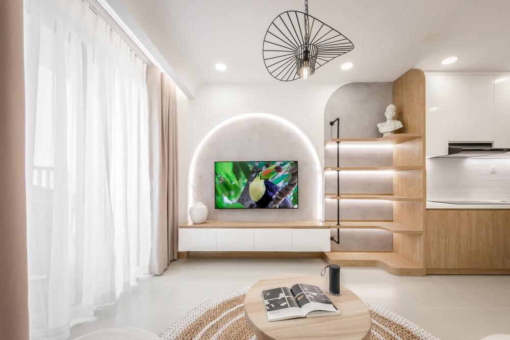 Bỏ 900 triệu thiết kế căn hộ, 8x xứng đáng nhận điểm 10 vì góc nào cũng đẹp như showroom - Ảnh 2.