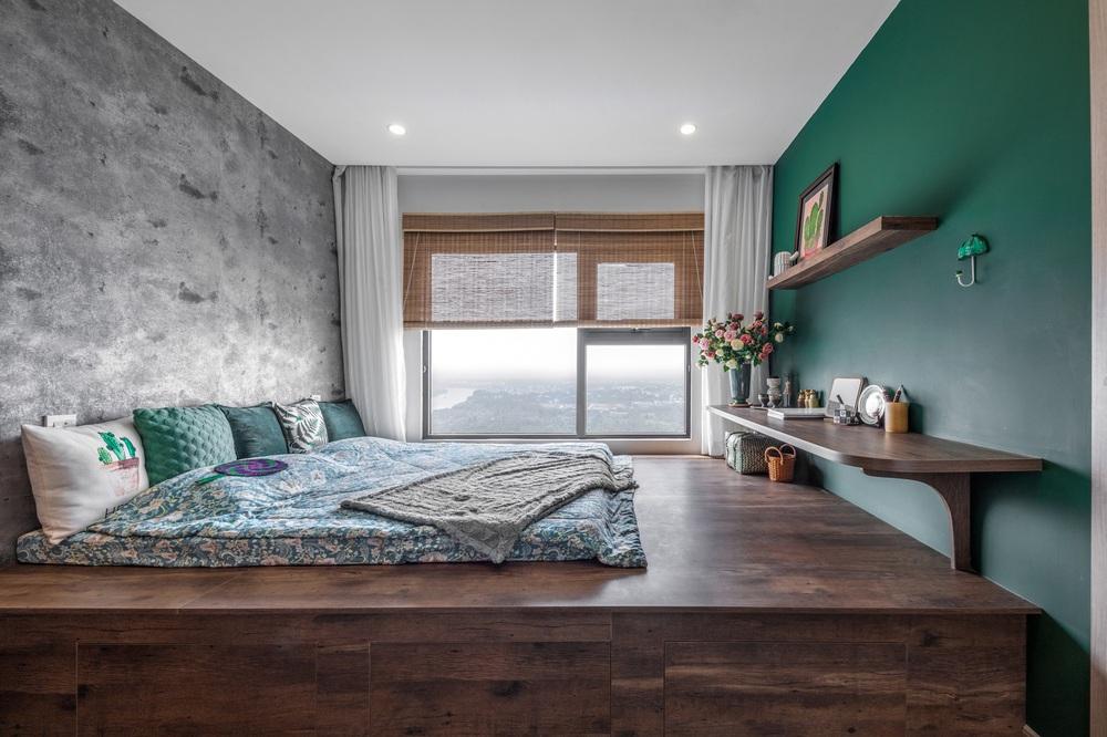 Cặp vợ chồng thiết kế căn hộ Vinhomes Grand Park theo phong cách Rustic mộc mạc, góc nào cũng bình yên đến lạ! - Ảnh 8.