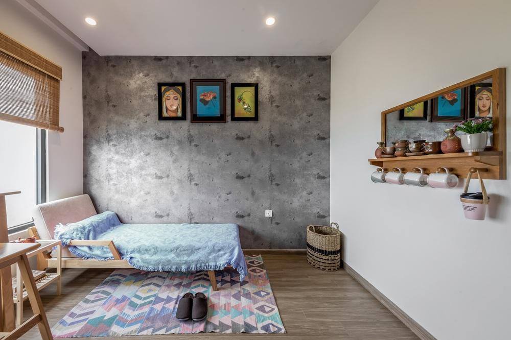 Cặp vợ chồng thiết kế căn hộ Vinhomes Grand Park theo phong cách Rustic mộc mạc, góc nào cũng bình yên đến lạ! - Ảnh 12.