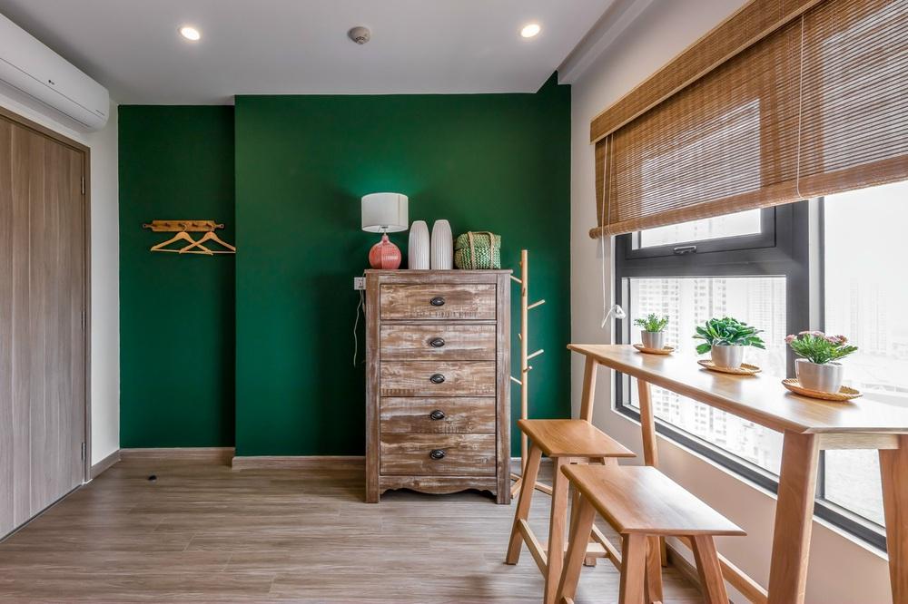 Cặp vợ chồng thiết kế căn hộ Vinhomes Grand Park theo phong cách Rustic mộc mạc, góc nào cũng bình yên đến lạ! - Ảnh 13.