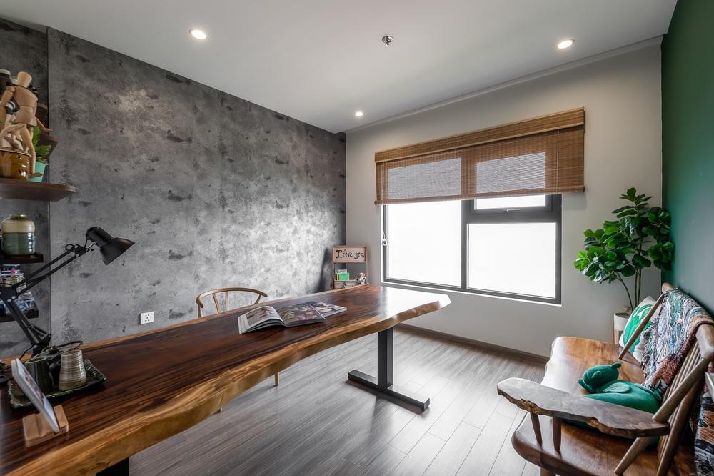 Cặp vợ chồng thiết kế căn hộ Vinhomes Grand Park theo phong cách Rustic mộc mạc, góc nào cũng bình yên đến lạ! - Ảnh 6.