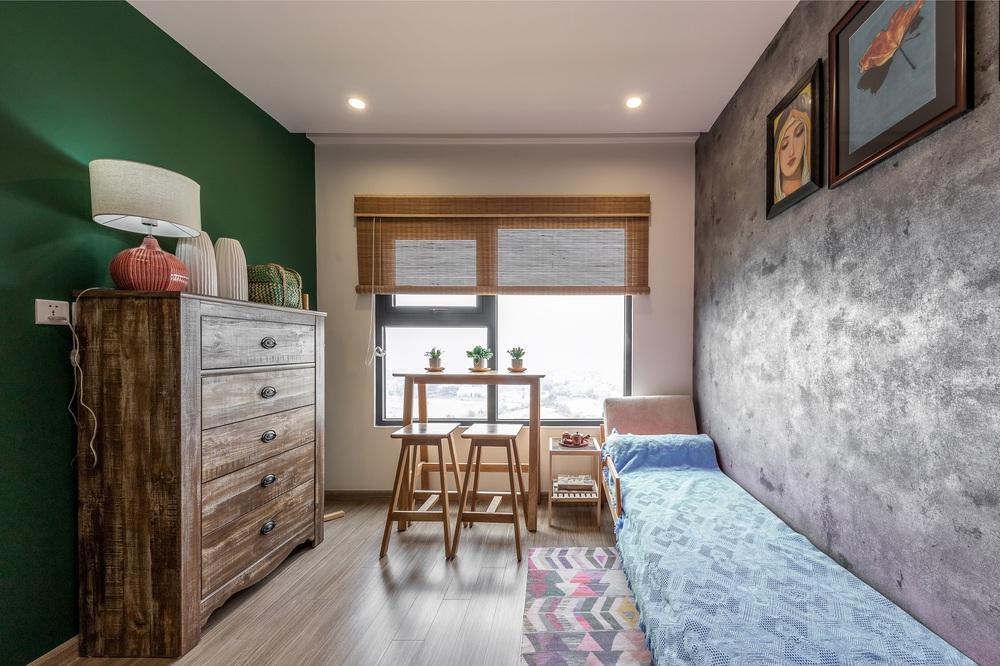 Cặp vợ chồng thiết kế căn hộ Vinhomes Grand Park theo phong cách Rustic mộc mạc, góc nào cũng bình yên đến lạ! - Ảnh 11.