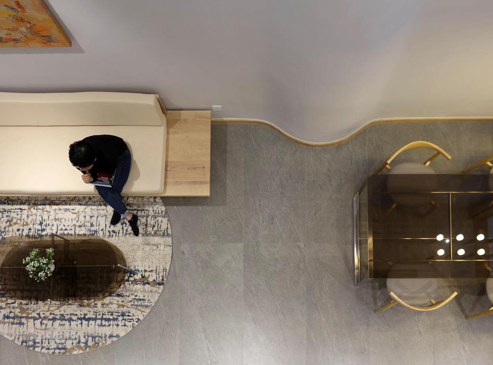 Mê mẩn nhà phố 2,3 tỷ có cầu thang uốn lượn như dải lụa, góc nào cũng giống triển lãm nghệ thuật - Ảnh 9.