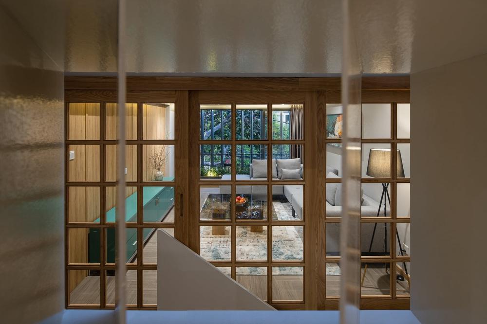 Mê mẩn nhà phố 2,3 tỷ có cầu thang uốn lượn như dải lụa, góc nào cũng giống triển lãm nghệ thuật - Ảnh 15.