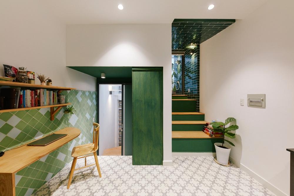 Nhà xanh lá 34m2 lọt thỏm giữa những công trình cao tầng nhưng vẫn nổi nhất khu nhờ loạt điểm nhấn độc nhất vô nhị - Ảnh 16.