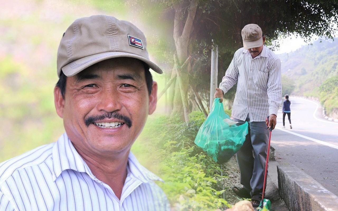 Ông chú bán kem dễ thương nhất Đà Nẵng: 3 năm cặm cụi nhặt rác ở bán đảo Sơn Trà