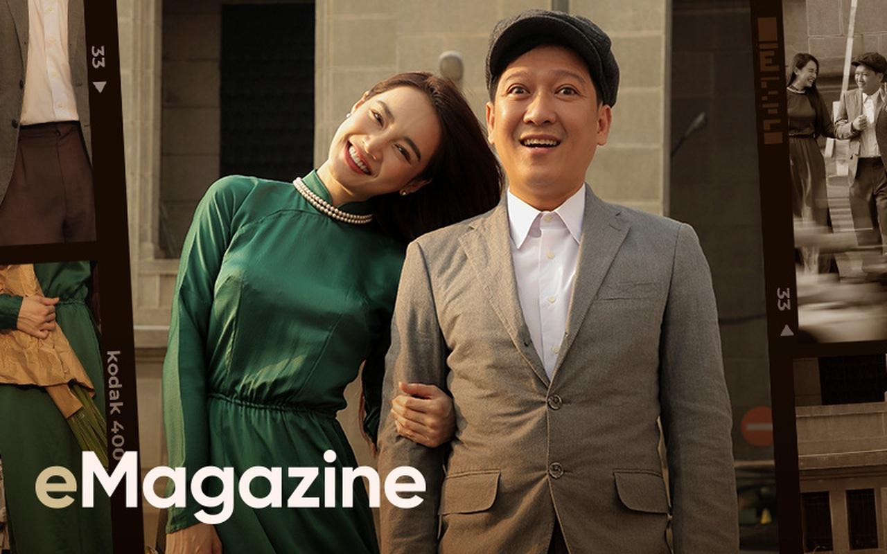 """Lần đầu tiên kể từ khi yêu nhau, Trường Giang - Nhã Phương cùng trả lời phỏng vấn: """"Vợ tui sướng nhất quận Phú Nhuận luôn"""""""