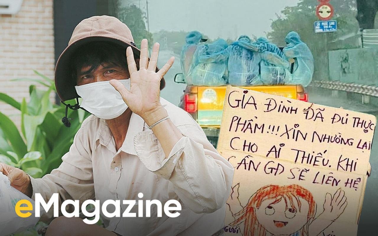Sài Gòn giữa những ngày ngàn ca nhiễm: Người với người sống để thương nhau