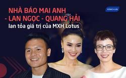 """Ninh Dương Lan Ngọc, Quang Hải và nhà báo Mai Anh gây xúc động: """"Lotus sẽ mang đến cơ hội lan tỏa niềm tự hào giá trị Việt Nam"""""""
