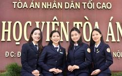 29 thí sinh đầu tiên trúng tuyển ngành Luật học, Học viện Tòa án