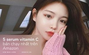 """5 lọ serum vitamin C bán chạy nhất trên Amazon: Cả """"núi"""" review tốt, làm mờ thâm và sáng da cực đỉnh"""