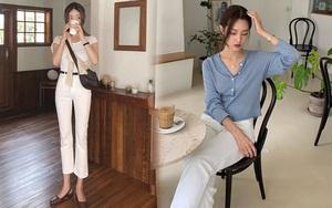 Tậu quần jeans trắng là có style sang xịn trendy, phối đồ đơn giản cỡ nào trông cũng hay ho