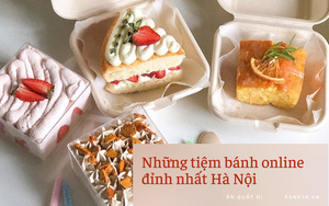 Những tiệm bánh ngọt online cực đỉnh ở Hà Nội, vừa ngon vừa xinh nức nở cả newsfeed chúng mình