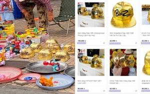 Nón vàng danh giá của Rap Việt bị làm fake nhan nhản, bán tràn vỉa hè với giá chỉ vài chục nghìn