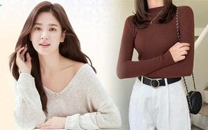 Song Hye Kyo diện áo len Zara mà sang nức nở, sắm về 1 em tương tự là bạn có style Thu chuẩn đẹp