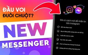 Trải nghiệm dùng Messenger Facebook gộp chung Instagram: