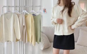 """Ngắm là muốn sắm luôn 11 mẫu áo len sang xịn, phối đồ nào cũng """"ăn rơ"""""""