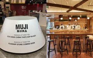 """Flagship store sắp khai trương của MUJI tại Việt Nam: 2 tầng siêu rộng, có cả quán cafe hứa hẹn rất """"chill"""""""