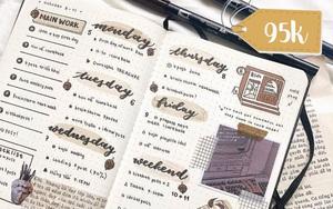 8 cuốn sổ lập kế hoạch đủ kiểu từ vintage đến hiện đại thấy là mê