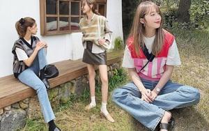 Hội celeb lẫn hot girl châu Á đều đang mặc áo gile len nhiệt liệt rồi, bạn mà chưa sắm là trễ trend đó nha
