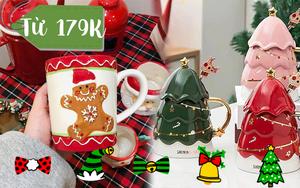 Sắm cốc sứ Giáng Sinh siêu cute giá từ 179K