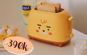 7 máy nướng bánh mì siêu xinh giá từ 390k cho bữa sáng nhanh gọn
