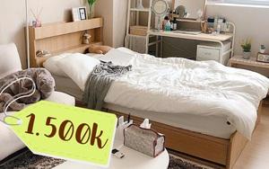 6 mẫu giường đáng sắm từ 1,5 triệu khiến phòng ngủ sang xịn hẳn lên