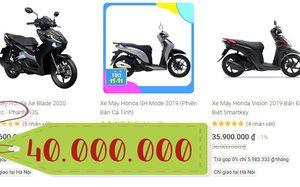 Chuyện kỳ thú ngày siêu sale 11/11: Có đến 4 người lên Shopee mua hẳn xe máy 40 triệu