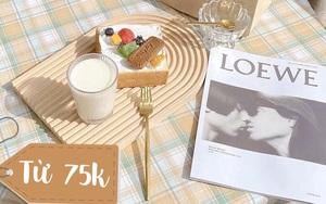 7 khay đựng trà bánh cực xinh giá từ 75k: Tha hồ trà chiều