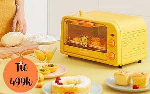 6 lò nướng siêu xinh giá chỉ từ 499k, sắm về lên mood nấu ăn ngay