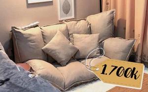 Sắm sofa bệt biến hóa khôn lường: Lúc làm ghế êm, ngả ra là có giường ngủ xịn