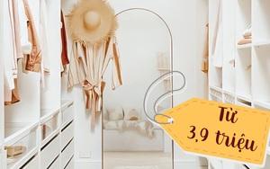 Sắm tủ quần áo từ 3,9 triệu có ngay phòng ngủ đẹp long lanh như Pinterest